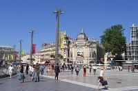 Quartier de la ville de Montpellier